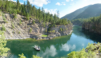 Kootenai River Upper Canyon