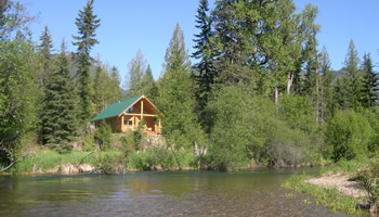 Vacation Cabin Rental KRO Montana